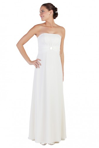 Standesamtkleid A1201 in ivory